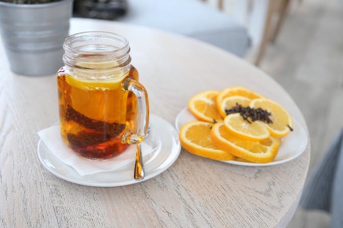 Bienfaits du thé rouge rooibos.