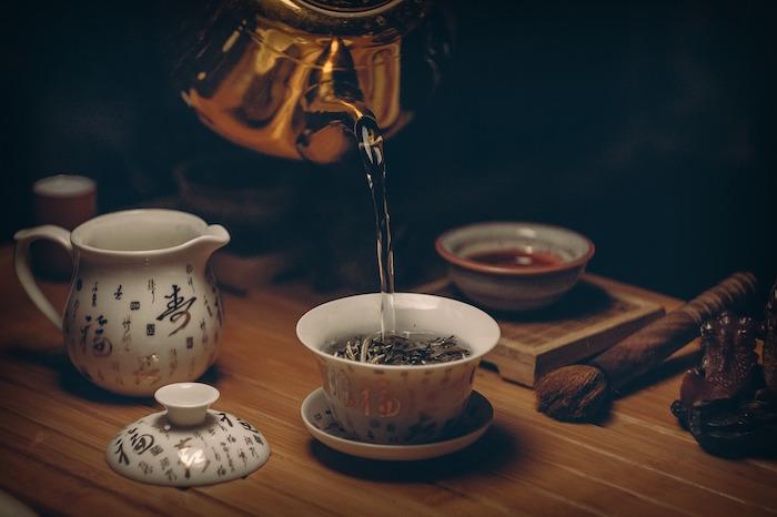 Préparation du thé vert pour maigrir.