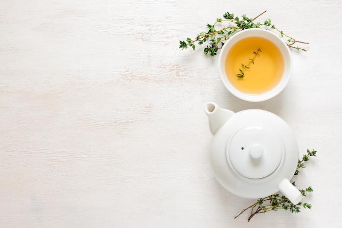 Maigrir avec le thé vert.
